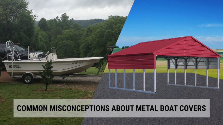 Common Misconceptions about Metal Boat Covers