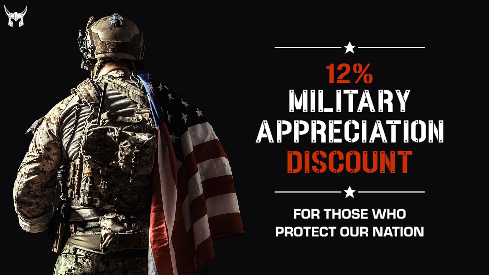 2019 Military Appreciation Discount