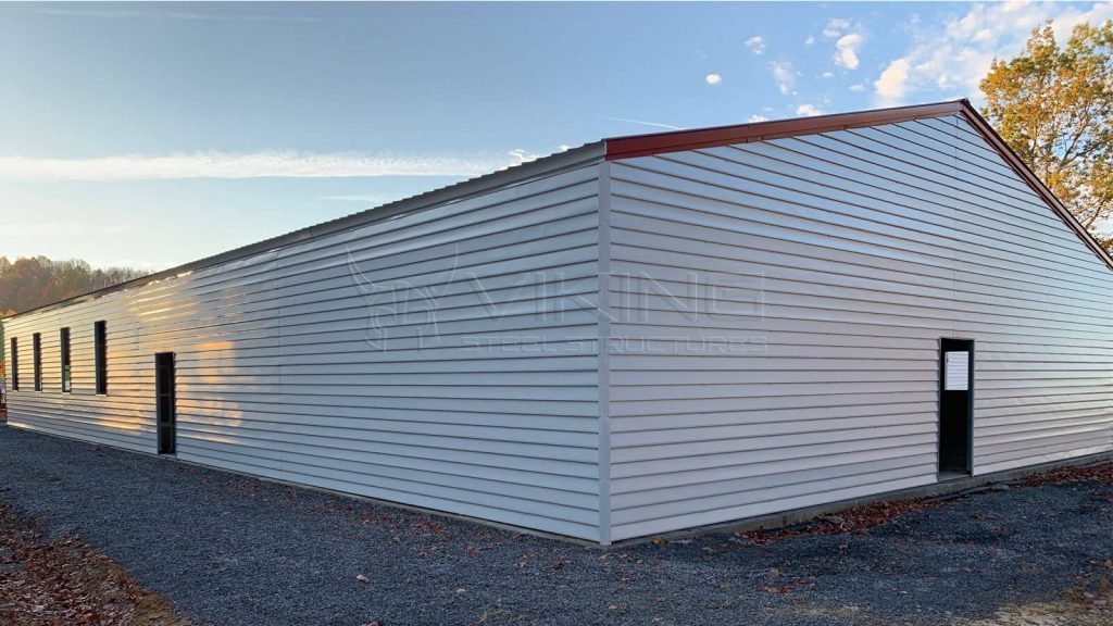 50x100 Clear Span Metal Building