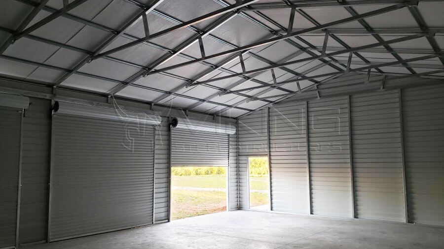 30x40 Metal Building with Lean To
