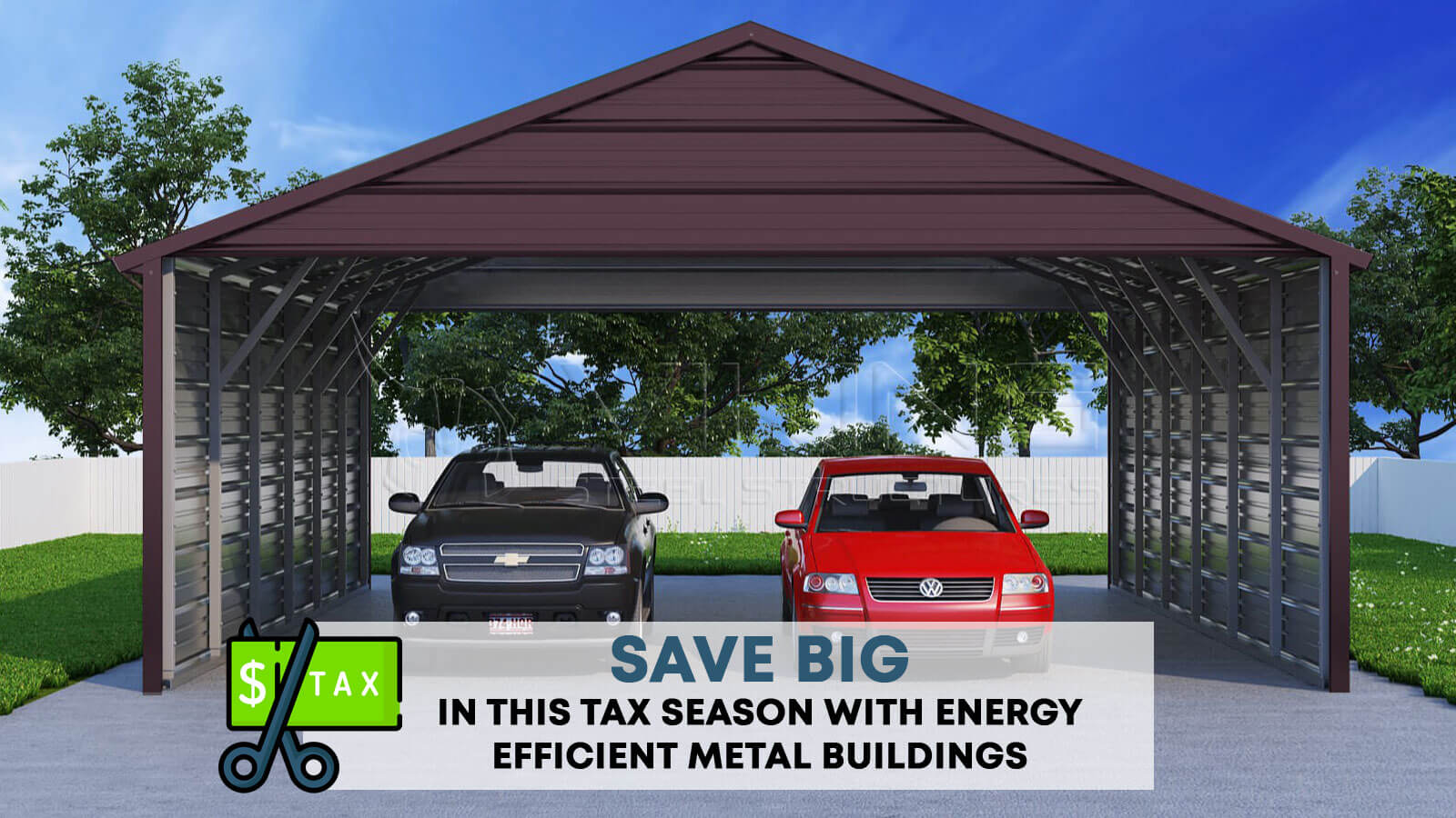 SAVE BIG in This Tax Season with Energy Efficient Metal Buildings