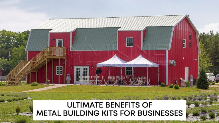 Ultimate Benefits of Metal Building Kits for Businesses
