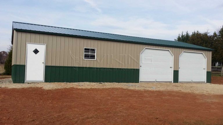 30x55x9 All Vertical Steel Building Workshop