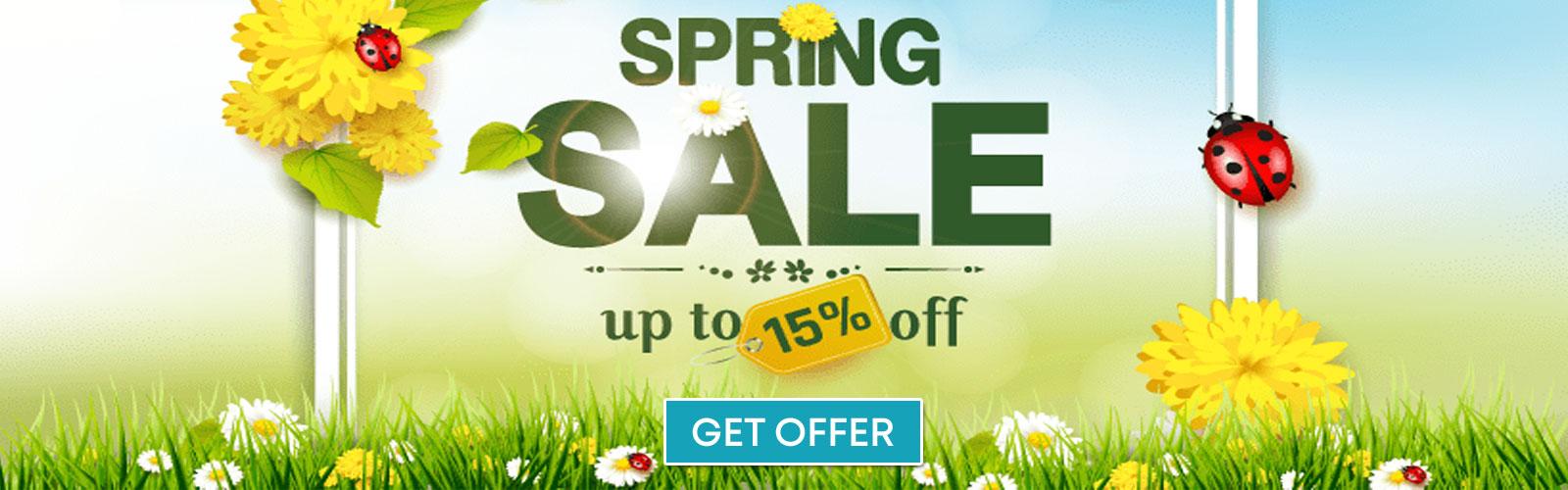 Get Spring Sale Offer