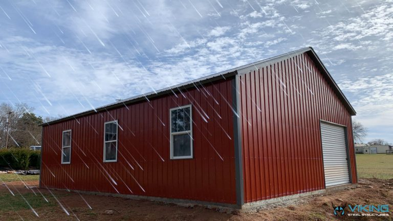 How to Prepare Your Metal Building for Monsoon Season