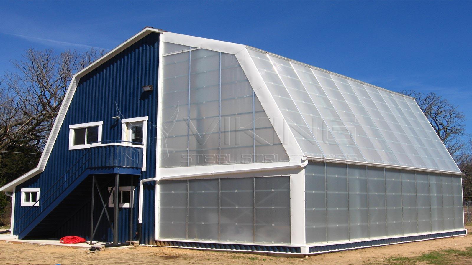 Metal Greenhouse Building