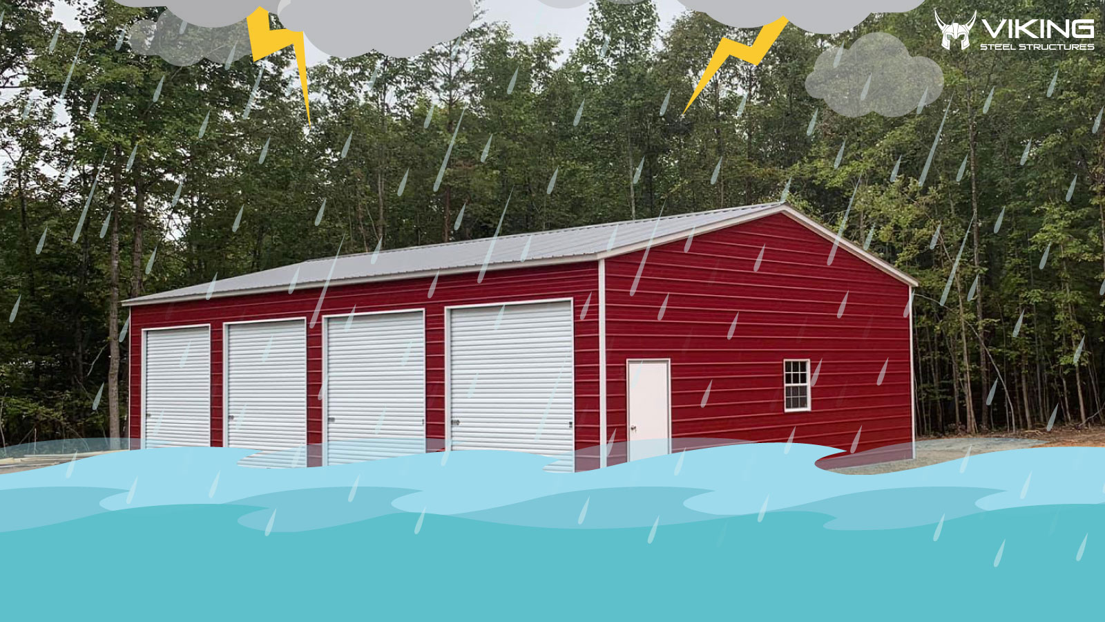 Ultimate Benefits of Steel Building in Flood Zones