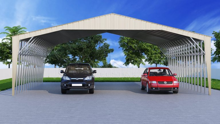 Be Weatherproof with Vertical Roof Metal Carports