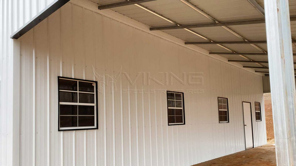 36x40x12 Continuous Roof Barn