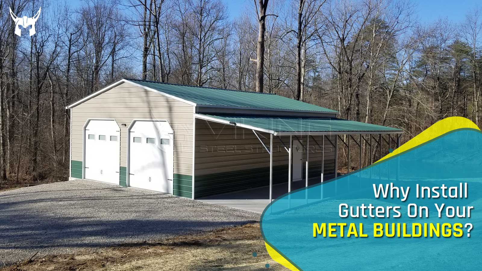 Why Install Gutters On Your Metal Buildings?
