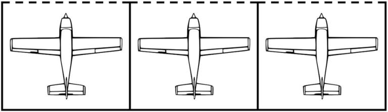 Consecutive Rectangular Hangars
