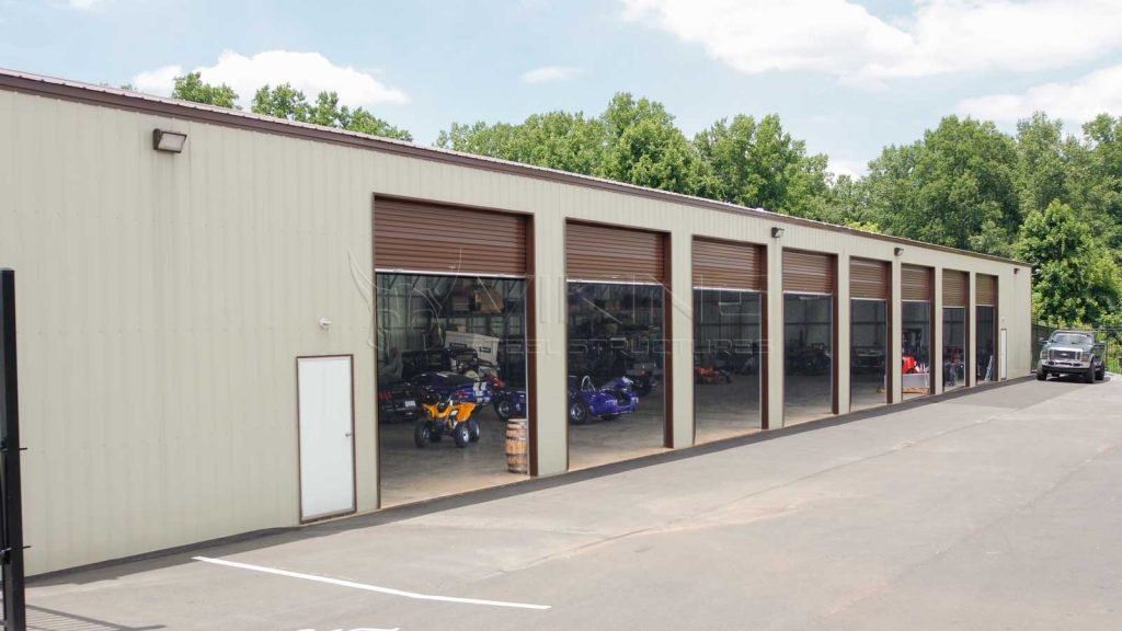 40x120x16 All Vertical Commercial Building