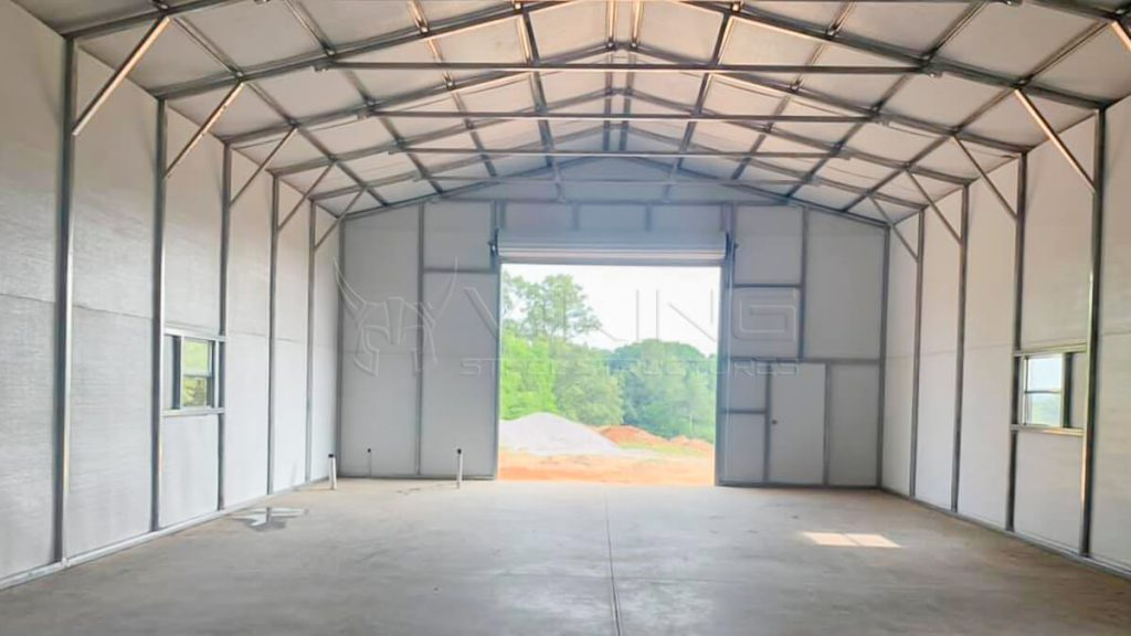 30x40x12 All Weather Steel Garage
