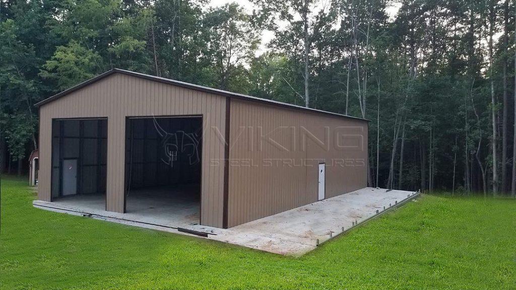 30x40x14 All Vertical Garage Workshop