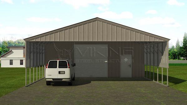 Superieur 30x41 Utility Carport Building