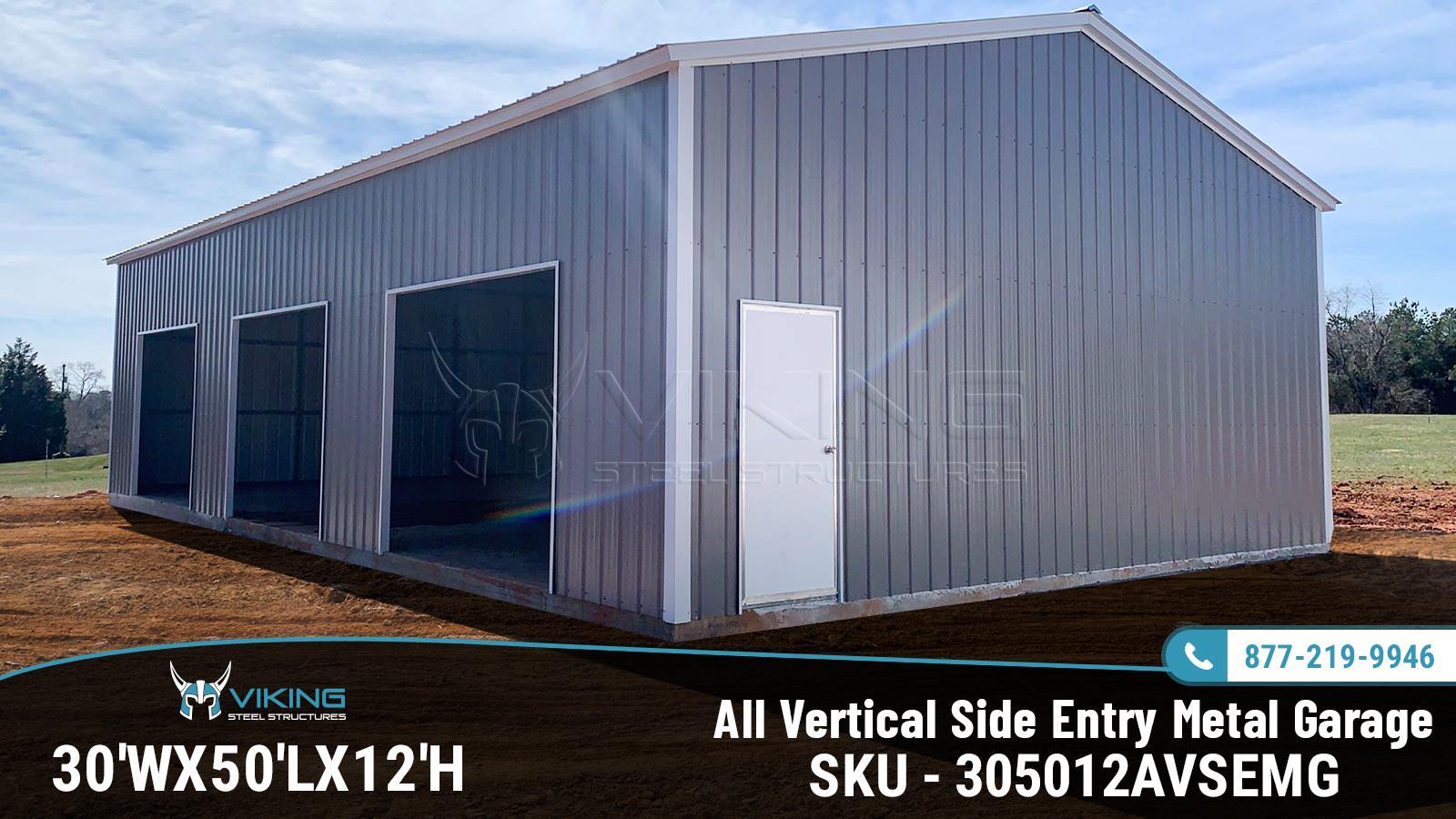 30x50x12-all-vertical-side-entry-garage