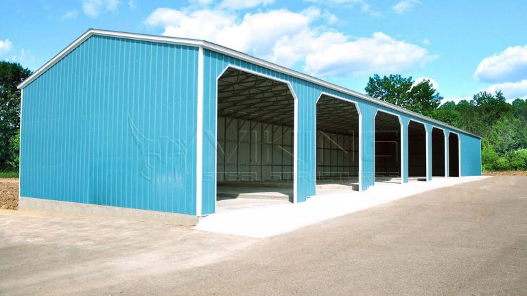 30x80x14 All Vertical Workshop Building