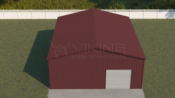 32x41 All Vertical Prefabricated Workshop