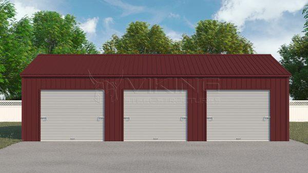 34x41 Metal Storage Workshop