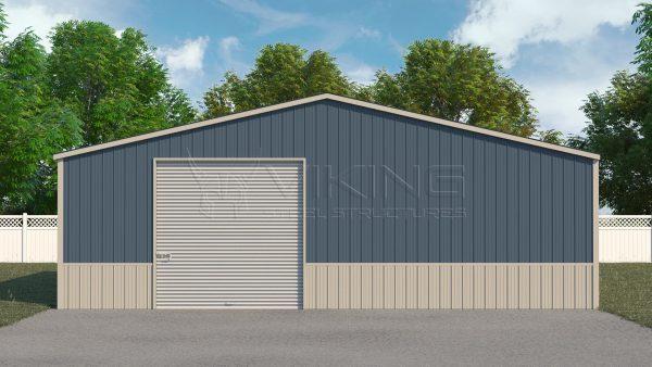 36x36 Metal Workshop Building