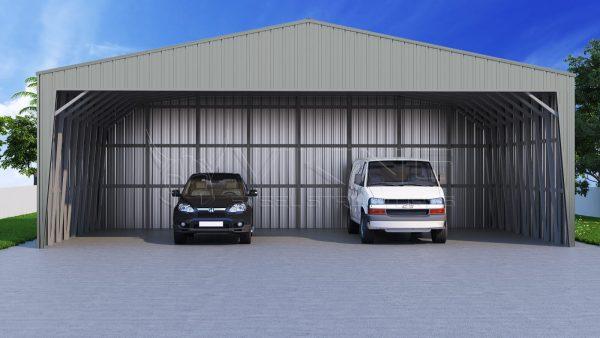 40x26 wide metal carport