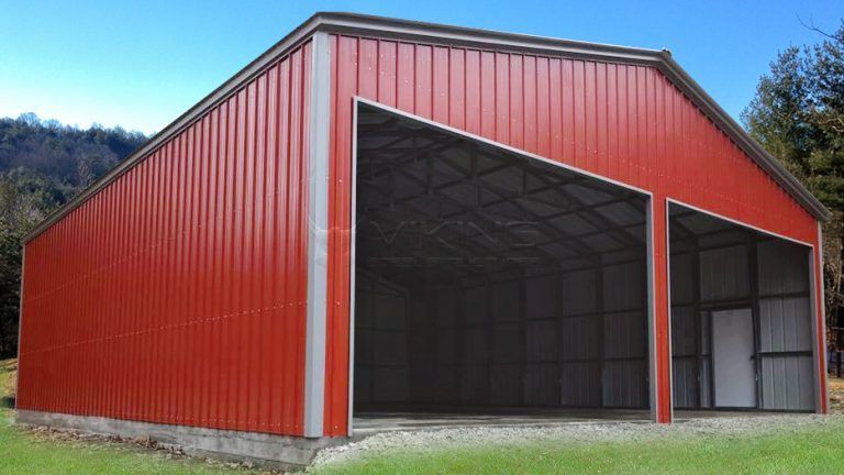40x32x12 Metal Workshop Building