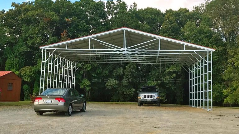 40x40x14 Vertical Roof Commercial Building