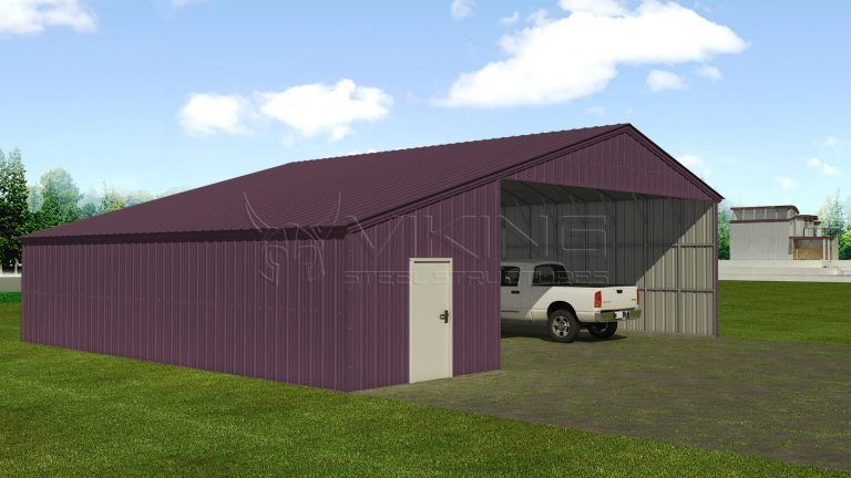 42 x 41 Vertical Style Custom Building
