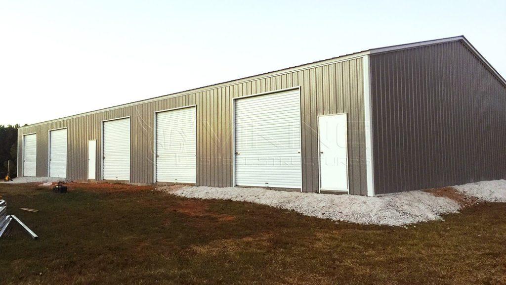 50x100x12 Clear Span Building