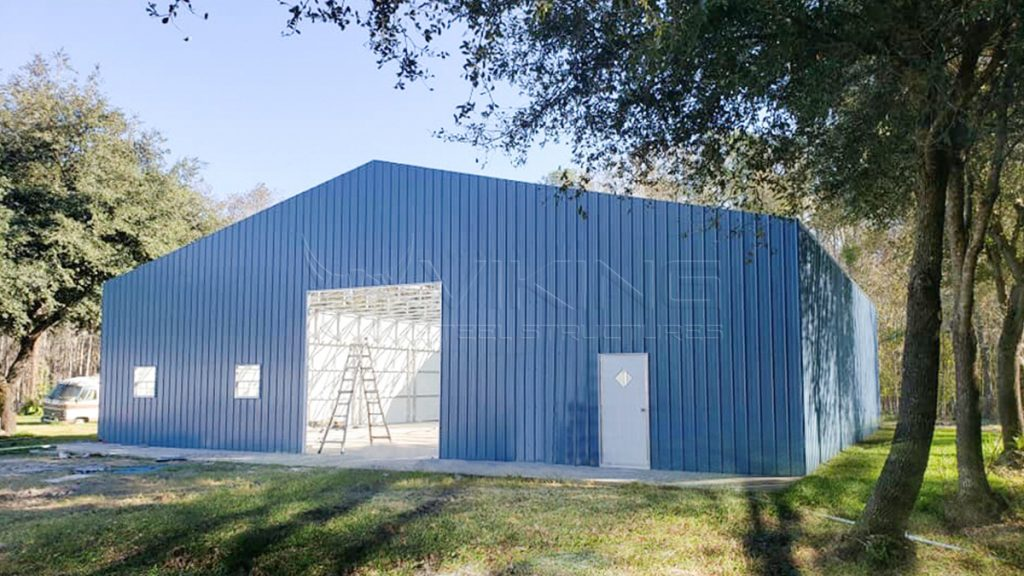 60x60x14 Clear Span Workshop