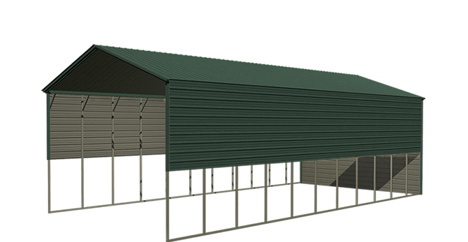 Viking Steel Structures- Metal Carports, Barns, Garages, RV Covers